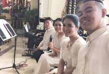WEDDING 23 DECEMBER 2017 by RHYTHM AND VOICES MUSIC