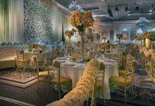 Beautiful Wedding Light of Anthony & Natalia by Etcetera Lighting