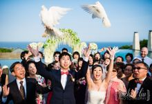 ASHLEY & MICHAEL WEDDING by Banyan Tree Ungasan Resort