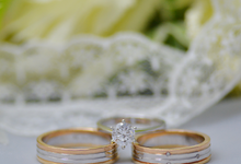 Two Tone Bands by J's Diamond Jewellery