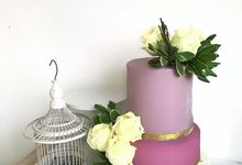 Violet Gold by sugarbox patisserie