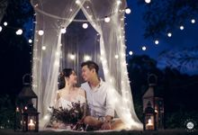 Engagement [Night/ Day] Photography - Rachel & Alton by Knotties Frame