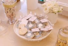 Engagement Party Candy Buffet by Sweet Nest Events