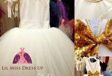 Custom Flower Girl Dresses by Lil Miss Dress Up