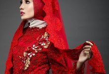 Muslim Modern Bridal (Simple Elegant) by Mezuira MakeUp & Hijab Style