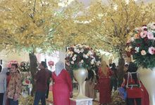 Alin dan Ade Kuswara Kunang Wedding by 3 Times Wedding Service