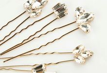 Vi Wedding Hair Pin 5pcs/set by Fairytale Undercover