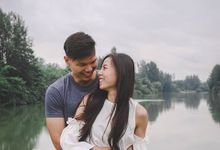 Pre Wedding Shoot in the Seletar North Link by Mindfulproduction