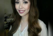 Beautiful Bride by Make up by Janine Tejing