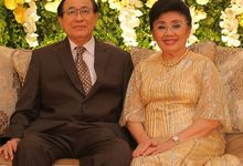Wedding 50th Anniversary of Bapak & Ibu Bambang Handana by Bella Donna Wedding Organizer