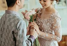 THE ENGAGEMENT OF DEVINA & RANDY by Chandani Weddings