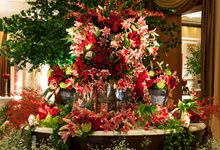 Oriental Carmine by MawarPrada Wedding Decoration