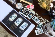 Tessa & Mike - Customized Premium Guest Book by Sakalijadi