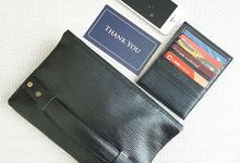 Customized your bag and wallet with us for your loved ones by M & F TRAVELKIT