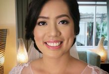 My beautiful bride Paula  by HD Make up by Joyc Young