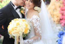 The Wedding of Onny & Cecilia by IMELDAVID