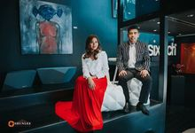 Pinky and Ver Prenup Shoot by Sheng Maquillage