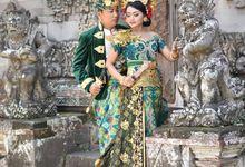 Prewedding at Museum Bali by Allena Make Up