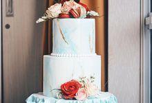 3 tiers Celebration cake (Wedding, Birthday, etc) by duchess bakes