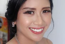Mrs Angeline Wedding Day by makeup by shinshin