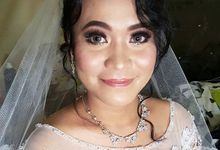 Natalia Wedding Day Makeup And Hairdo by Victoria Chang Makeup Artist