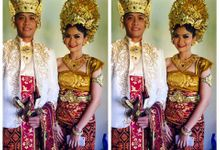 Payas Agung and Resepsi S&T by Allena Make Up