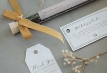 the wedding of Stephen and Carin by Tea & Co Gift