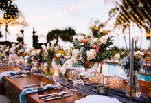 Wedding Dinner Reception by The Patra Bali Resort & Villas