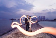 Engagement [Night/ Day] Photography - Priscilla & Jing Wen by Knotties Frame