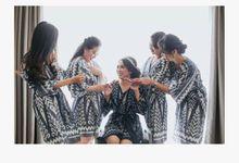 Ikat Kimono by Bendharu