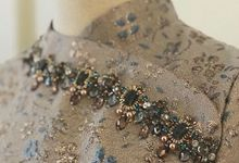 Sangjit Dress by Berta Chandra Couture