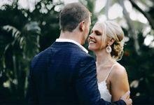 Wedding for beautiful bride Mrs Kat Thomas by Yulan Make Up Artist Bali