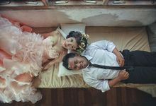 mika & yani prewedding by ritual photography