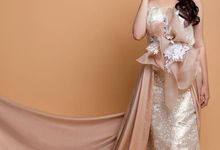 Prewed/Evening Gown by Chintya The