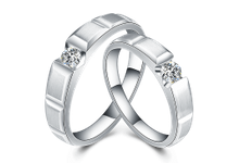 Tiaria TOREUTIC HEART Diamond Ring Perhiasan Cincin Pernikahan Emas dan Berlian by TIARIA