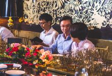 An intimate wedding at Forlino by Huahee