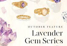 "Gemsclub ""Lavender Gem Series"" by Tulola"