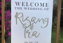 Risang & Ira 29.06.2019 by Oma Thia's Kitchen Catering