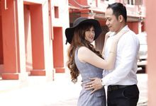prewedding malaysia for V & H by nof makeup