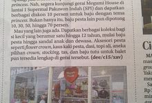 Our Review at Newspaper ! by Megumi House