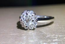 Mandala Flower Diamond Ring by Pointers Jewellers