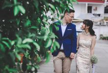 Pre Wedding Shoot in the Old Estate of Singapore by Mindfulproduction
