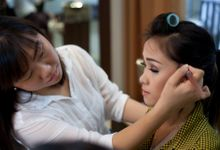 "make up for cover album felly chibi ""berjanji Setia"" by Xin-Ai Bride"