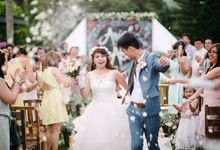 Christian garden wedding  by Sweet Comfort Events Management by Roman (Bingo) Flores