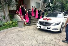 The Wedding of Erick & Christine by Priority Rent car