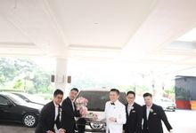 Royal Wedding of Steven & Stefanie by Priority Rent car