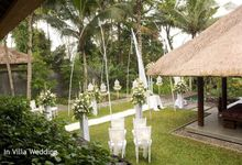 kayumanis ubud-wedding ceremony- in villa by Kayumanis Private Villa and Spa