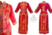 Traditional Qun Kwa by Bello Bella Wedding