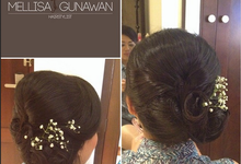 Wedding Bali Mei 2015 by mellisagunawanhairstylist
