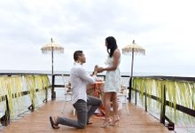 Wedding proposal Mike & Milly by THL Photography